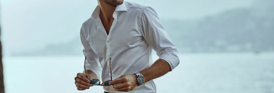 une chemise homme
